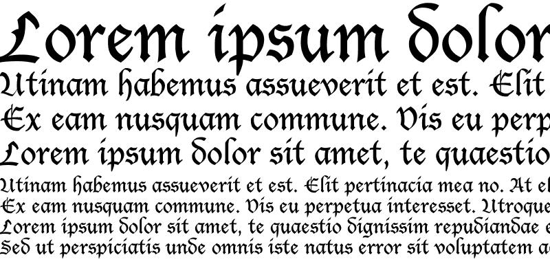 Sample of Lucerne Fancy Regular