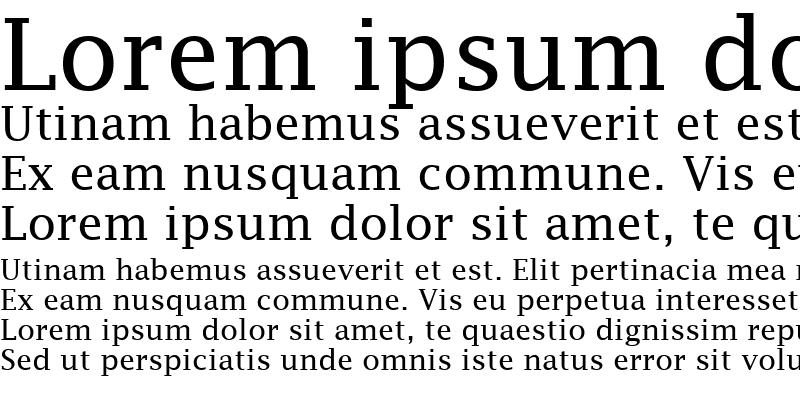 Sample of Lucida Fax