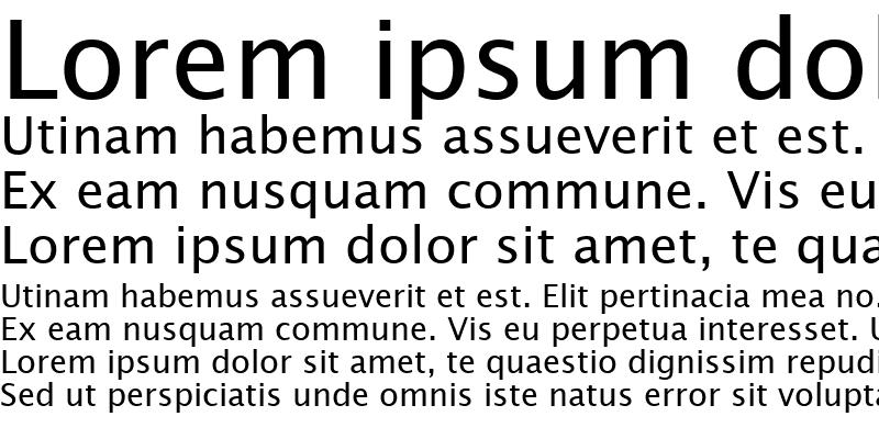 Sample of Lucida Sans KOI8