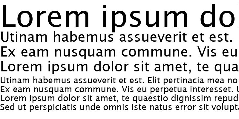 Sample of LucidaSanTCY