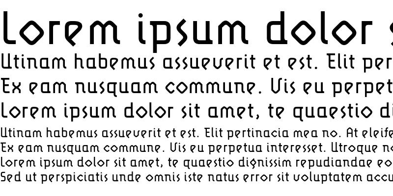 Sample of LunatixLight Medium