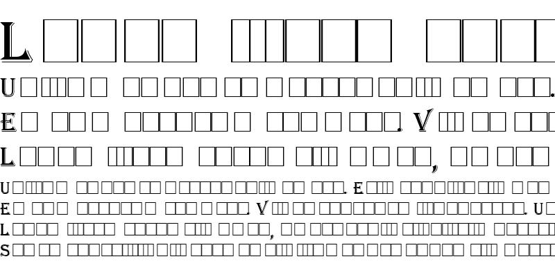 Sample of Lynwood Regular