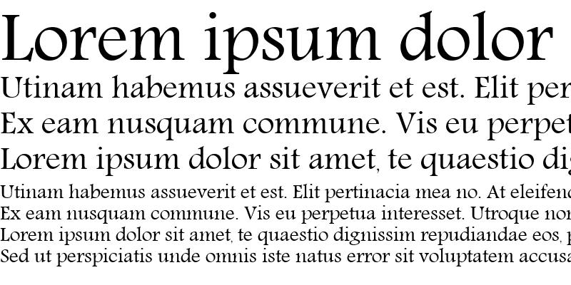 Sample of M Unicode Abeer