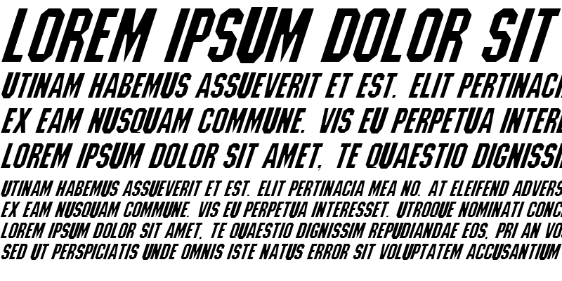 Sample of Machiavelli Italic