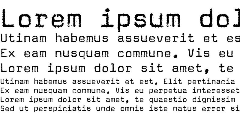 Sample of Magda Text Regular
