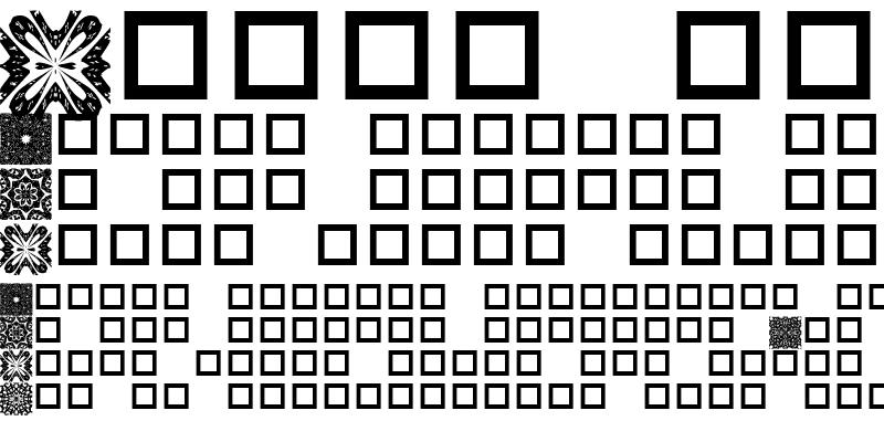 Sample of Mahogany's Lacee Dings Regular