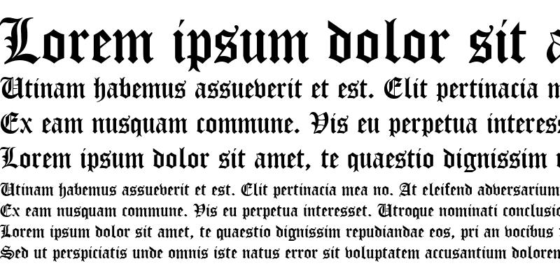 Sample of Manuscript