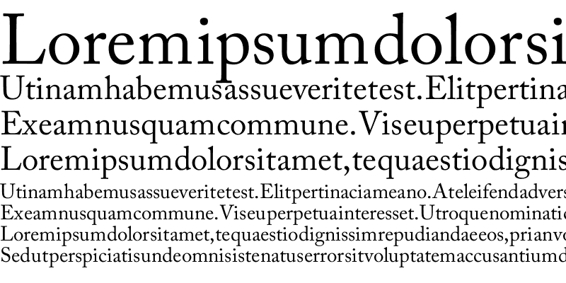 Sample of Manzor Unicode