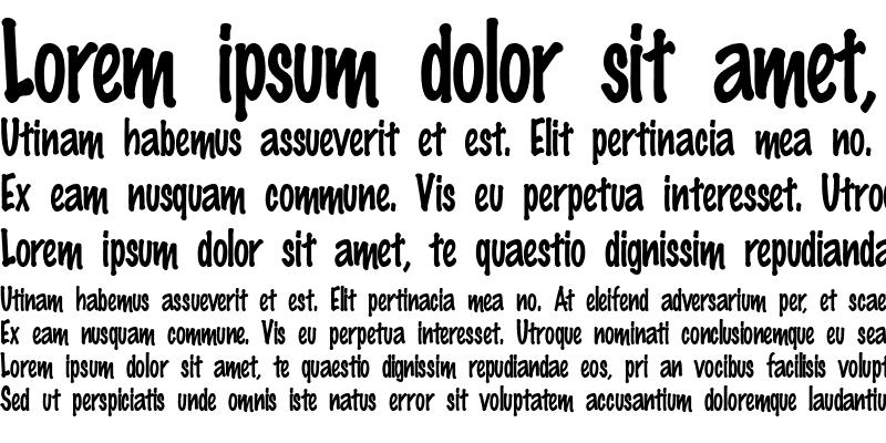 Sample of Marker-Condensed