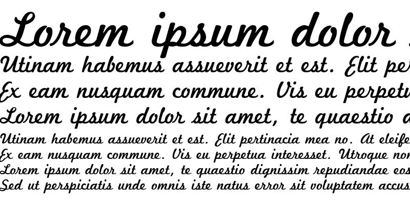 Sample of MarketingScript Regular