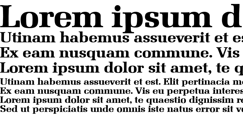 Sample of Marseille-Serial-ExtraBold