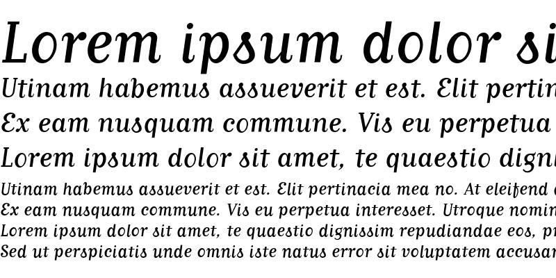 Sample of MatrixScript