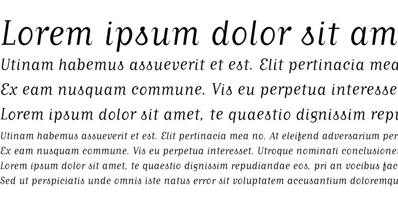 Sample of MatrixScriptBook Medium