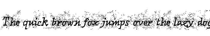 Preview of Matto Porco Bold Italic