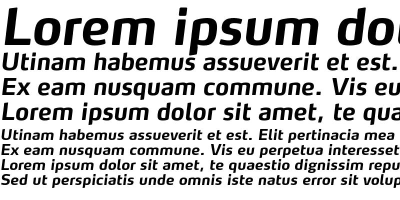 Sample of MaxTF-BoldItalic