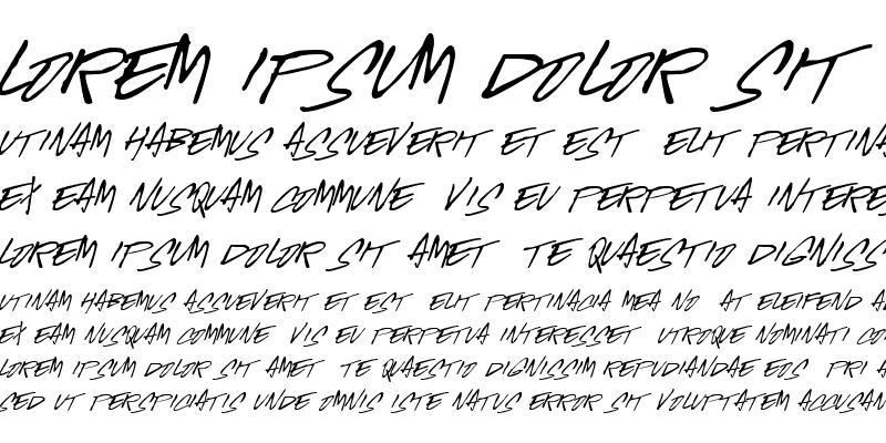 Sample of McGurr Script