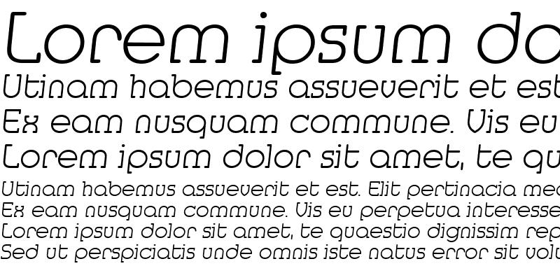 Sample of Media-Serial-ExtraLight RegularItalic