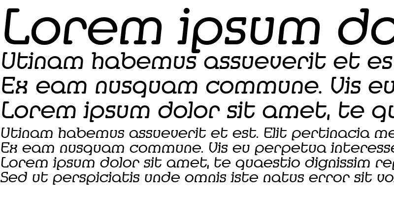 Sample of Media-Serial RegularItalic