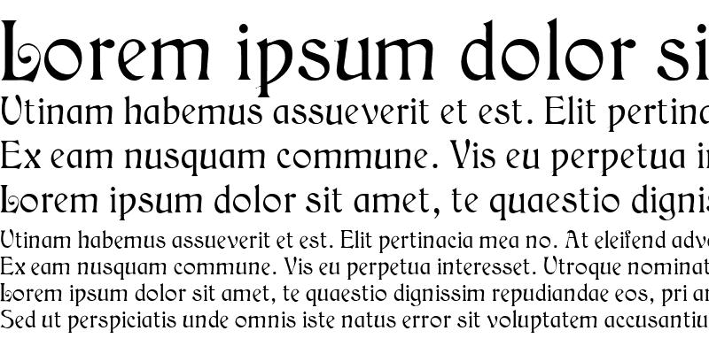 Sample of Medieval English