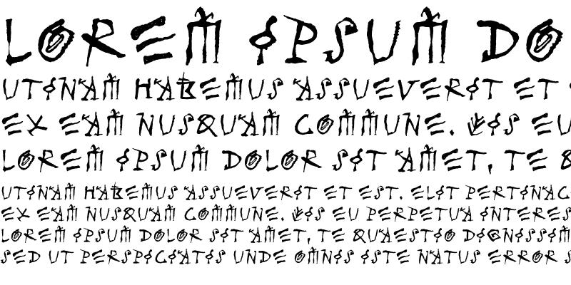 Sample of MerlinLL Regular