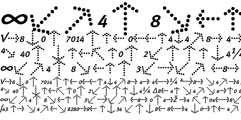 Sample of Meta Book Italic