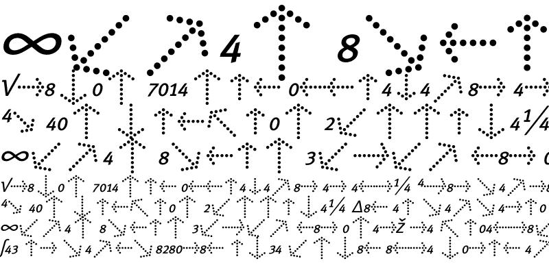 Sample of Meta Normal Expert Italic