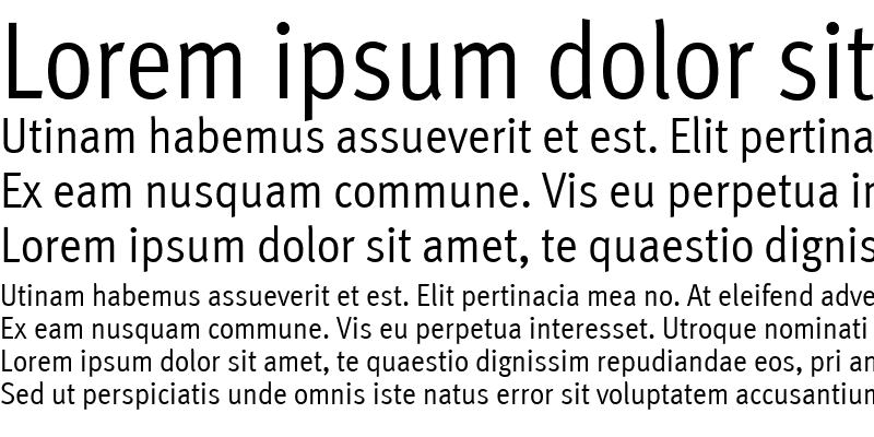 Sample of MetaCond Roman