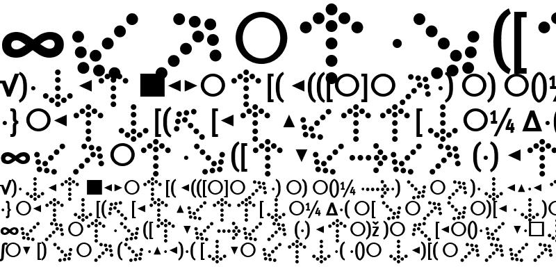 Sample of MetaCondBold
