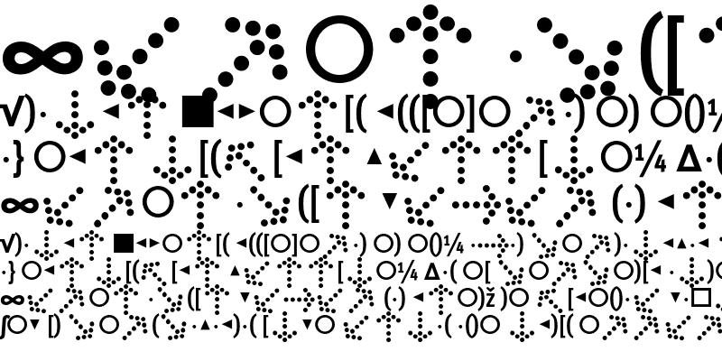 Sample of MetaCondBold Expert Regular