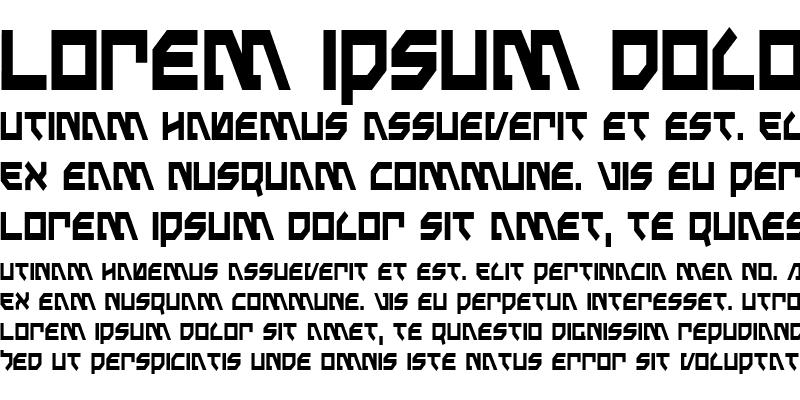 Sample of Metal Storm Condensed Condensed