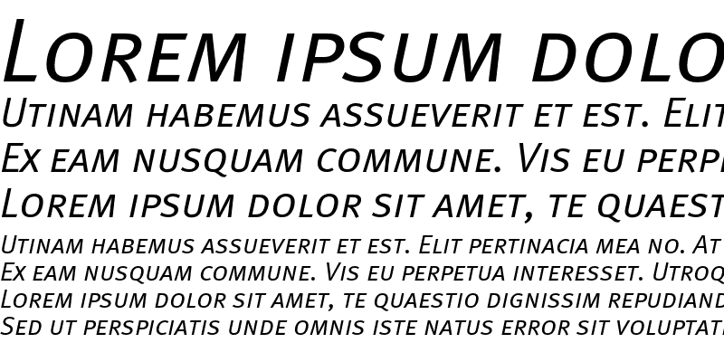 Sample of MetaNormalCyr-ItalicCaps