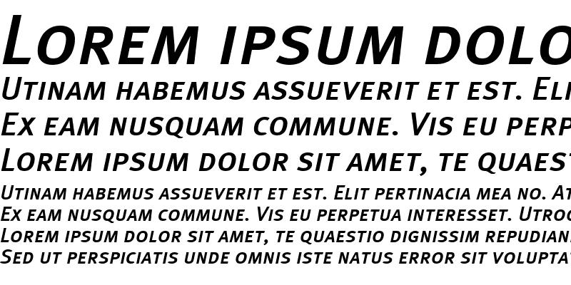 Sample of MetaPlusMedium-CapsItalic