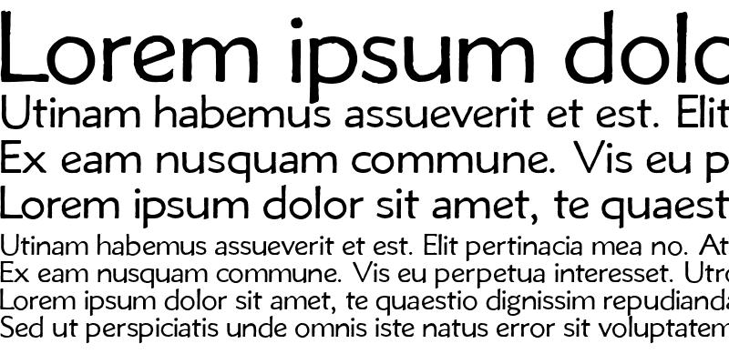 Sample of Metro Lite Alt