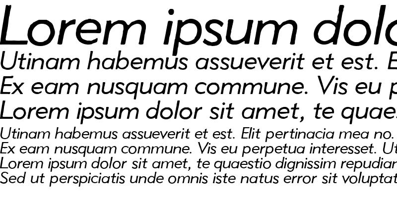 Sample of Metro Lite Oblique