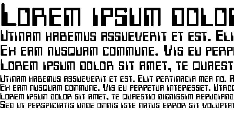 Sample of Micr Font