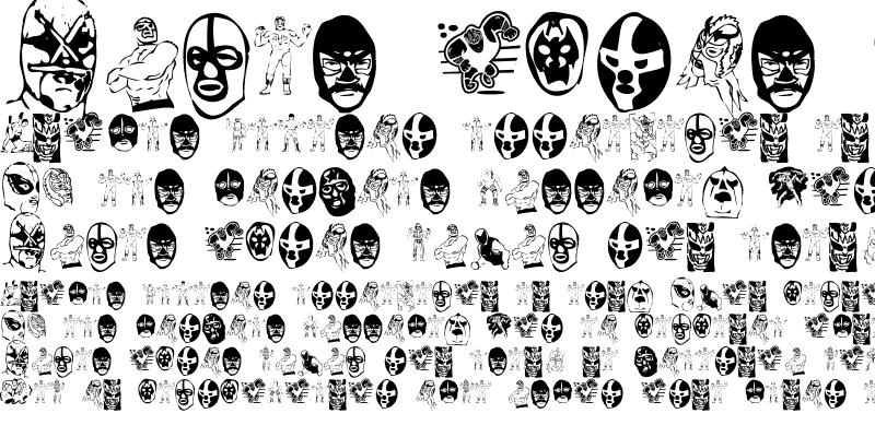 Sample of Mil Mascaras