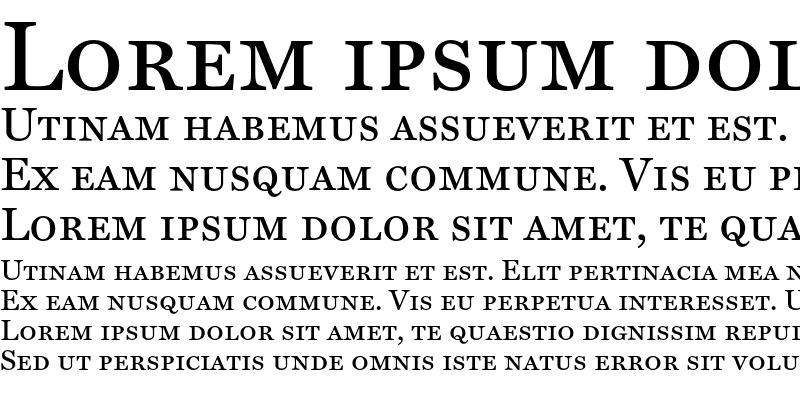 Sample of Miller Text SC Regular