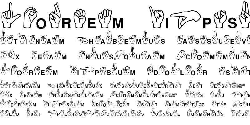 Sample of Mini Pics ASL