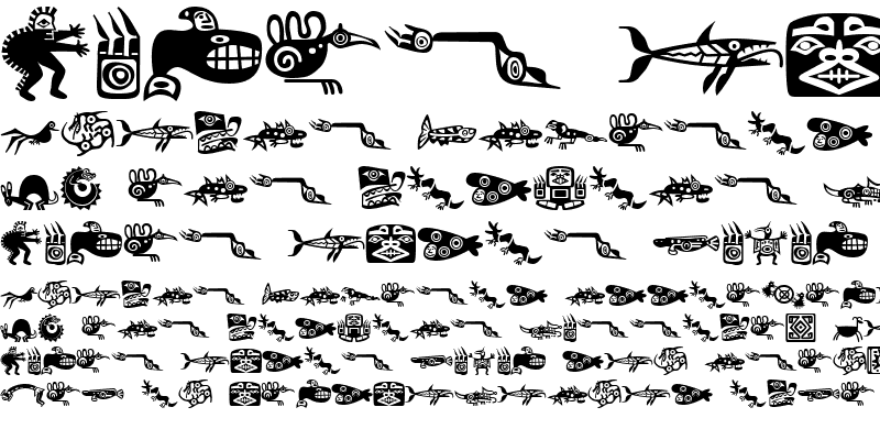 Sample of Mini Pics Lil Ancients