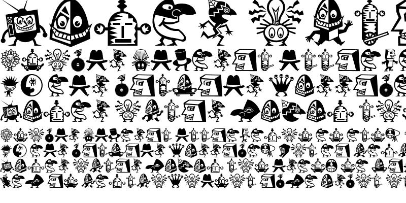 Sample of Mini Pics Lil Creatures Regular