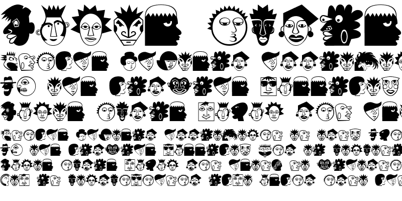 Sample of Mini Pics Lil Faces