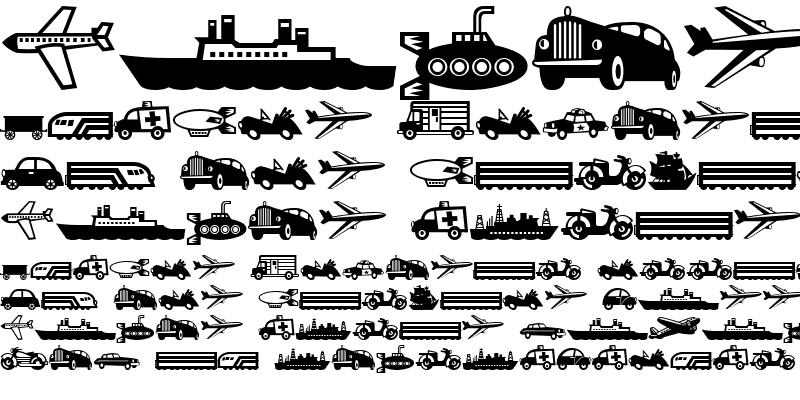 Sample of Mini Pics Lil Vehicles Regular