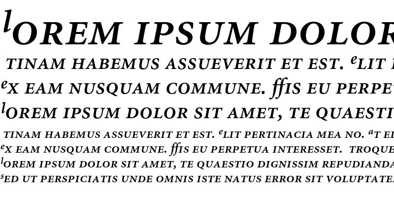 Sample of Minion Semibold Expert Italic