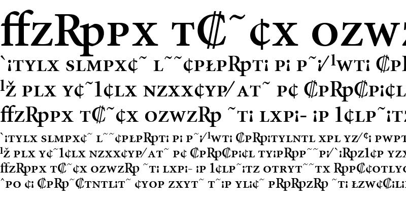Sample of MinionExp-Semibold