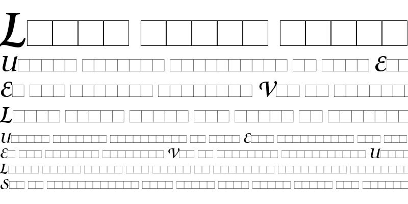 Sample of MinionSwash-SemiBold