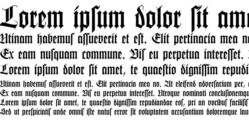 Sample of Missal