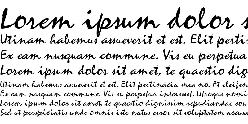 Sample of MistyScript