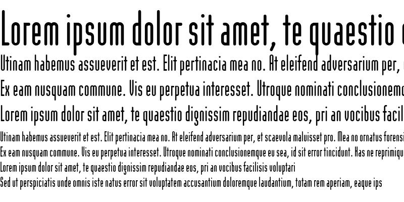 Sample of ModulaRoundSans Round Sans