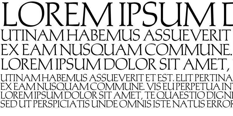 Sample of Monalisa Regular