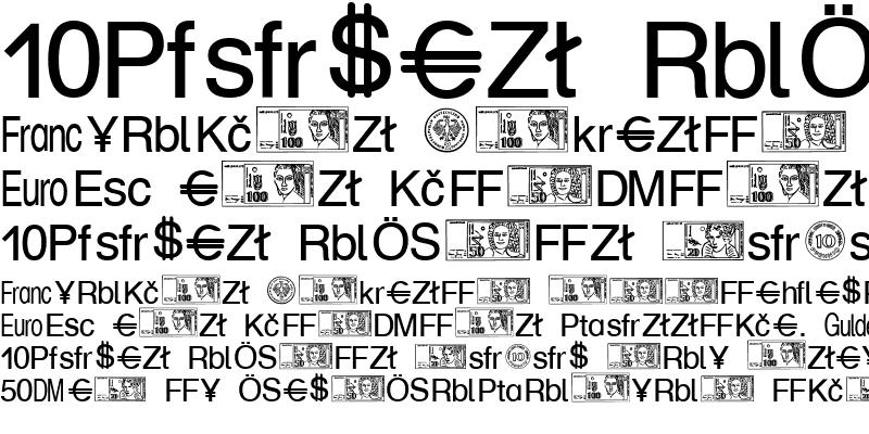 Sample of Money Becker Normal